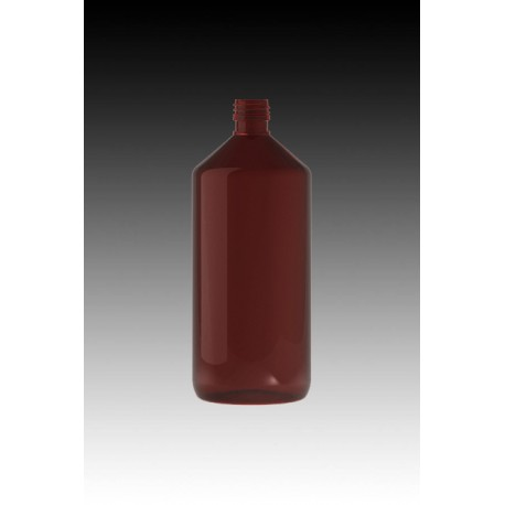 Flacon PET 1000 ml Ambré